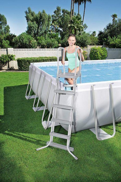 Bestway 56470 22ft Rectanglular Framed Swimming Pool 22ft X 12ft X 52 Inch