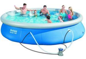 Bestway 57313 15Ft Fast Set Inflatable Pooll