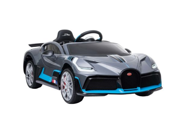 Kids Ride On Car Electric 12v Bugatti Divo – Grey