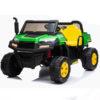 Kids Electric Tractor 24v Farmtrac Gator Fun Utility 2 Seater Truck With Tipper Utv