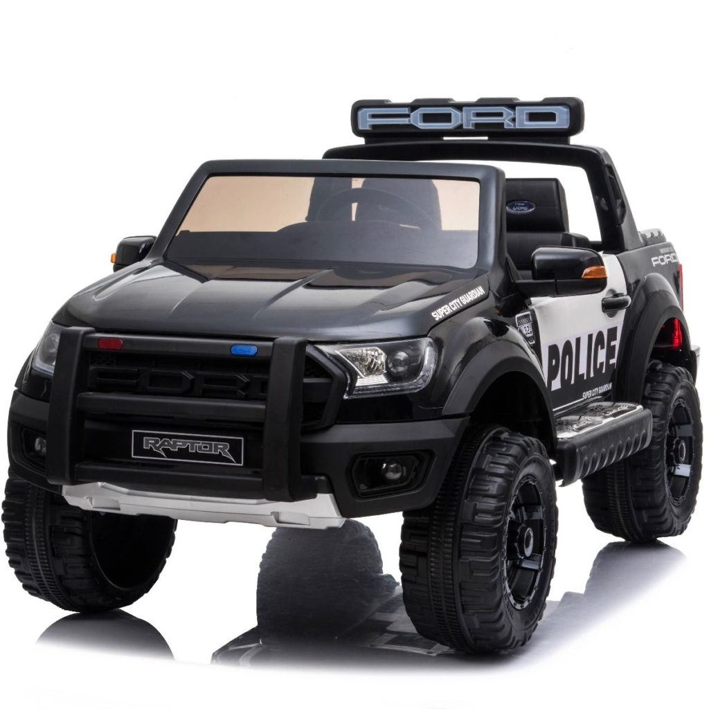 Ford Ranger Police Licensed 12v Kids Ride On Electric 2.4g Remote Control Car