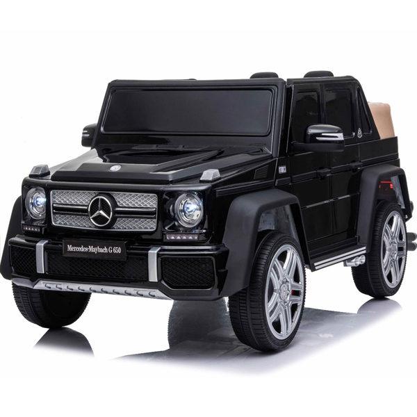 Licensed 12v Mercedes G650 Kids Electric Car – Black