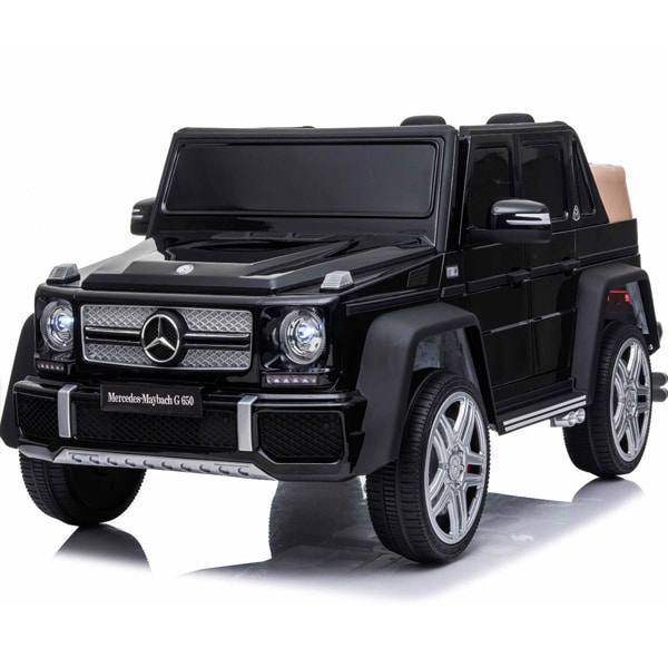Licensed 12v Mercedes G650 Kids Electric Car – Black