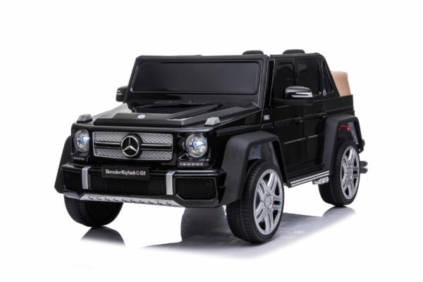 Licensed Mercedes Maybach G650 12v Children?s Ride On Jeep – Black