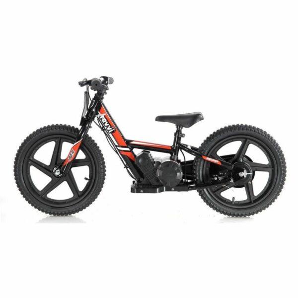 Revvi Lithium 16″ Kids Electric Dirt Bike – 24v Motorbike – Red
