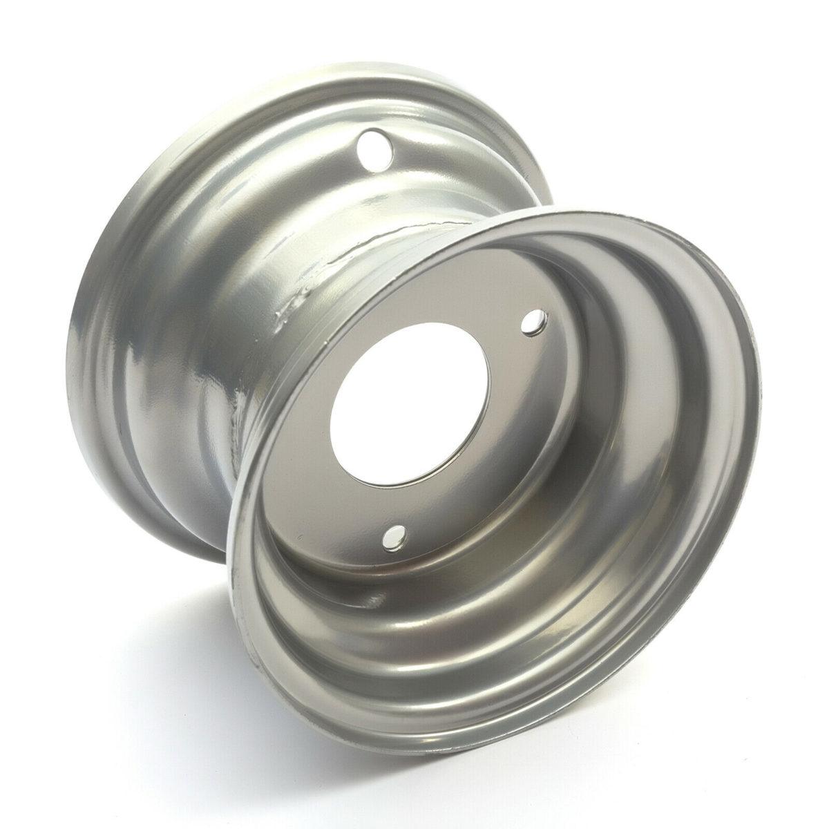 "Wheel Rim 6"" 6 Inch 3 Stud 145×70-6 50cc 70cc 90cc Kids Quad Bike Atv 54mm Hole – Silver"