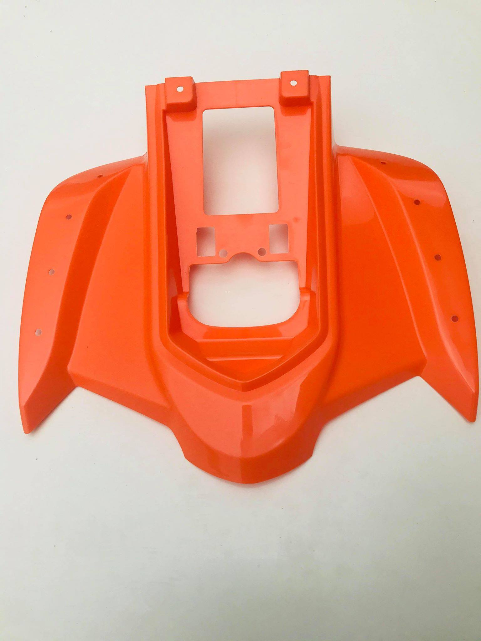 Hawkmoto Interceptor Rear Fairings – Rear Plastics – Orange