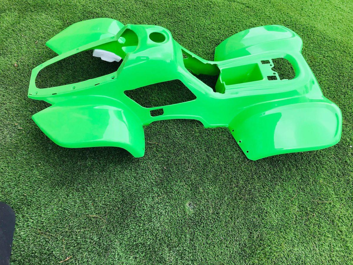 110cc Hawkmoto Thunder Cat Plastic Body Fairing  – Green  Fjq10