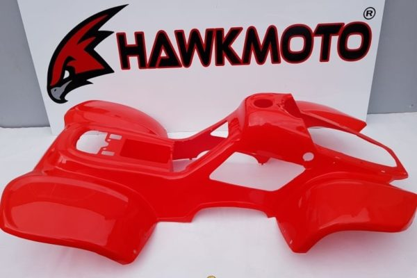 110cc Hawkmoto Thunder Cat Plastic Body Fairing  – Red  Fjq10