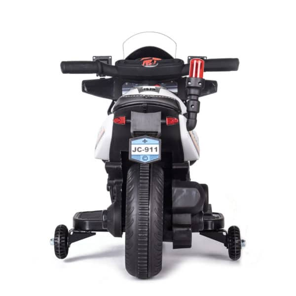 6v Kids Police Bike – With Flashing Lights