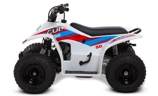 Smc Cub50 50cc Kids Quad Bike White