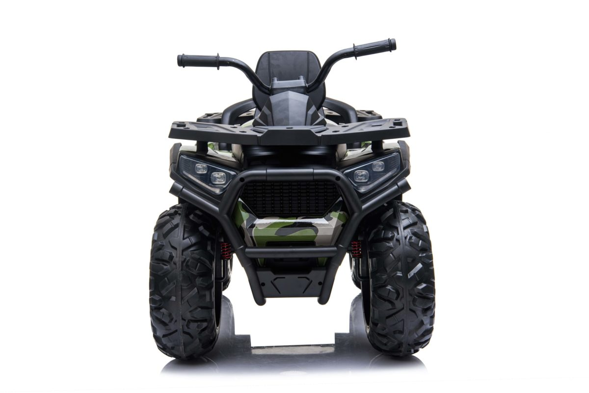 Kids Ride On Quad Bike 24v 4wd Bluetooth And Radio – Camo