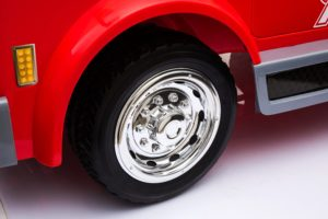 12v Ride On Fire Engine With EVA tyres