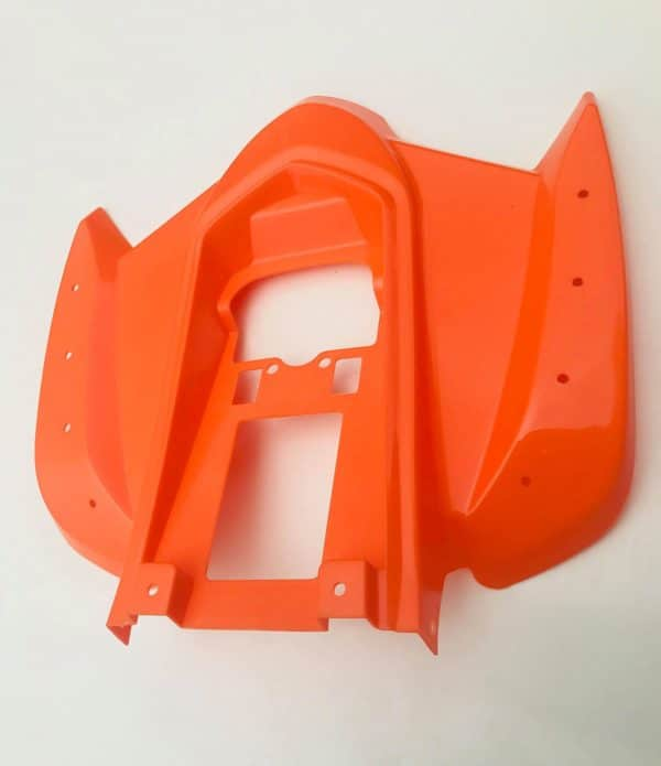 Hawkmoto Interceptor Rear Fairings – Rear Plastics – Orange