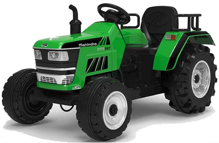 12v Tractor Ride On Kids Agricultural Vehicle – Green