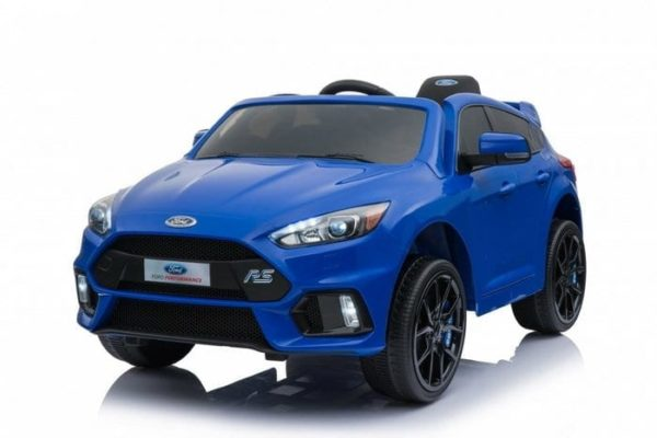 Licensed Ford Focus Rs 12v Childrens Kids Battery Ride On Car – Blue