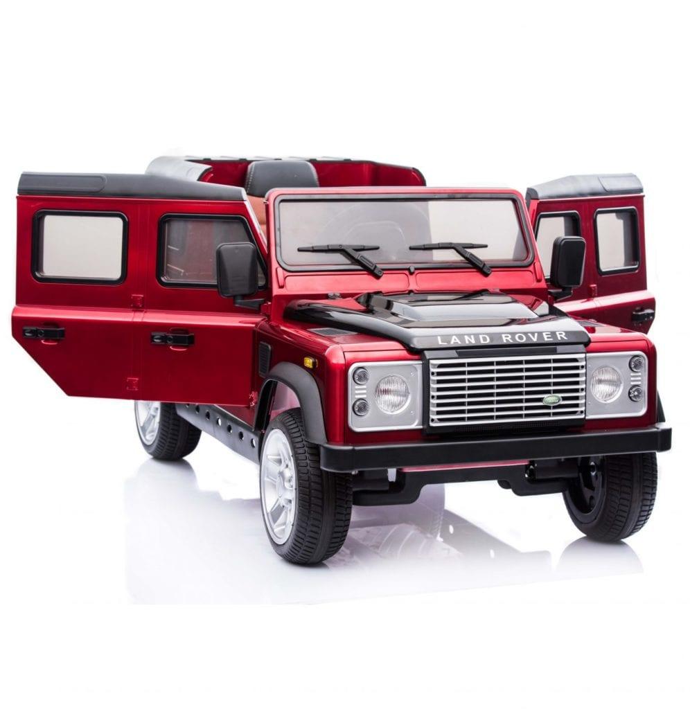 Licensed Land Rover Defender 110 12v Child's Ride On – Red