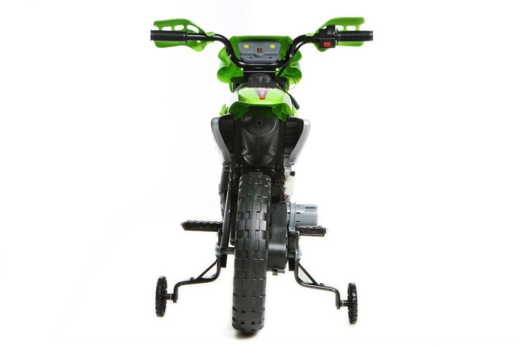6v Kids Electric Ride On Bike 2019 Scrambler Dirtbike – Green