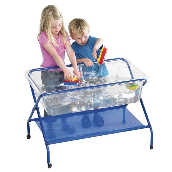 Tp621 Clear Rockface Tray With Stand