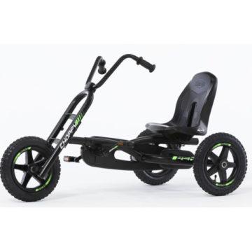 Berg Choppy Neo Kids Go Kart Black And Green