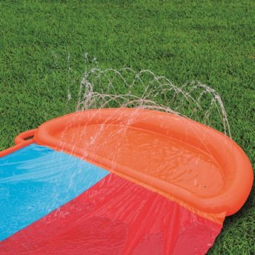 Bestway H2ogo Double Water Slide With Ramp?