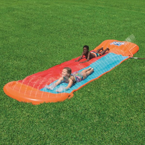Bestway Bw52255 H2ogo! Double Water Slide With Ramp