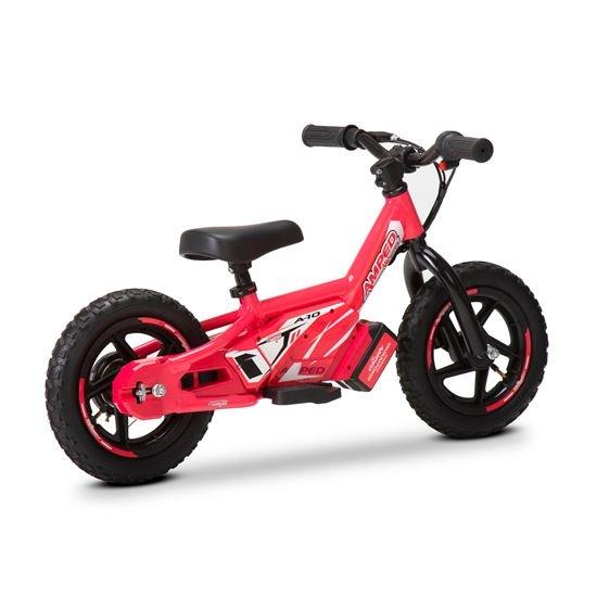Amped A10 Pink 100w Electric Kids Balance Bike