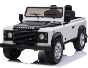 24V Kids Land Rover defender 90 – White
