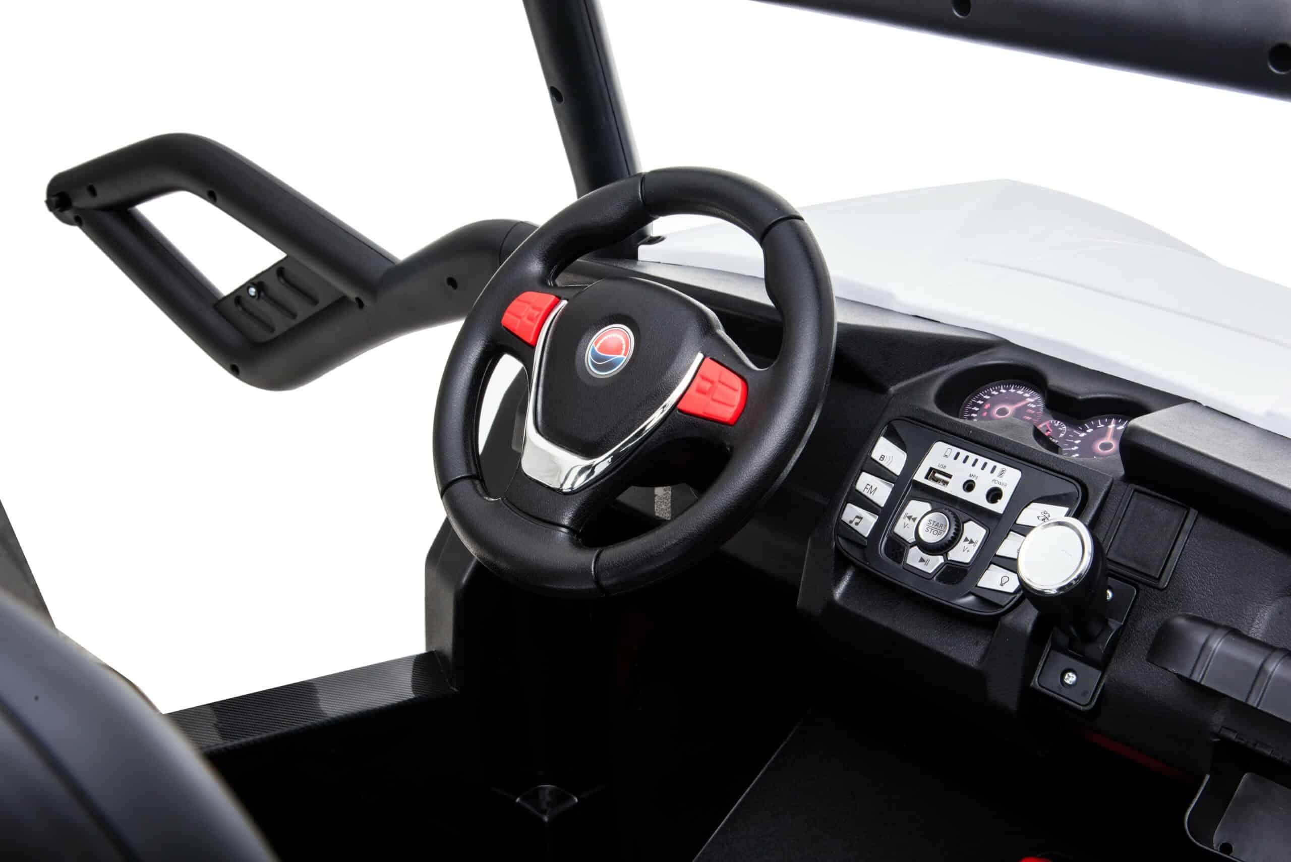 Renegade Maverick Rs 24v* 4×4 Kids Electric Ride On Buggy – White