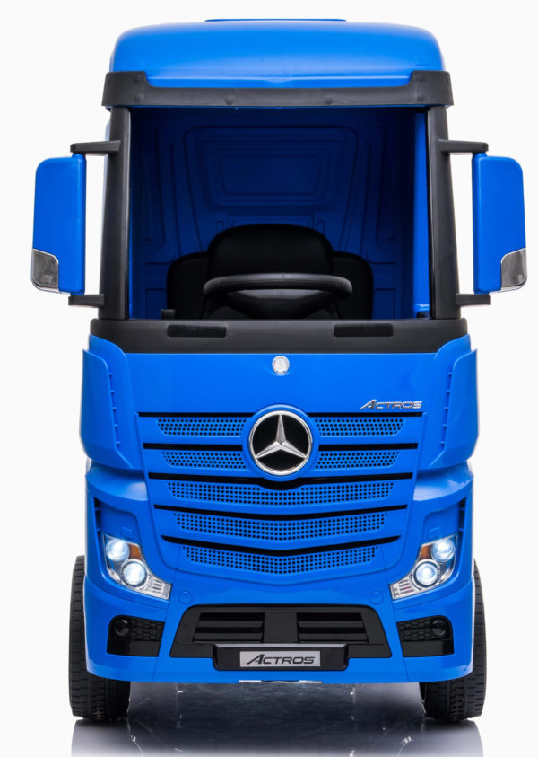 Licensed Mercedes-benz Actros 4wd 24v* Ride On Lorry – Blue