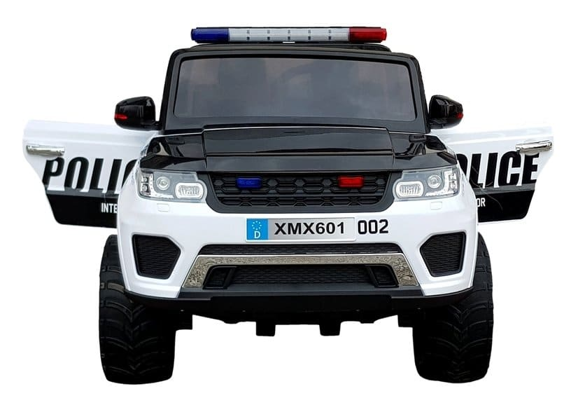 Land Rover Discovery Style Police Car – White