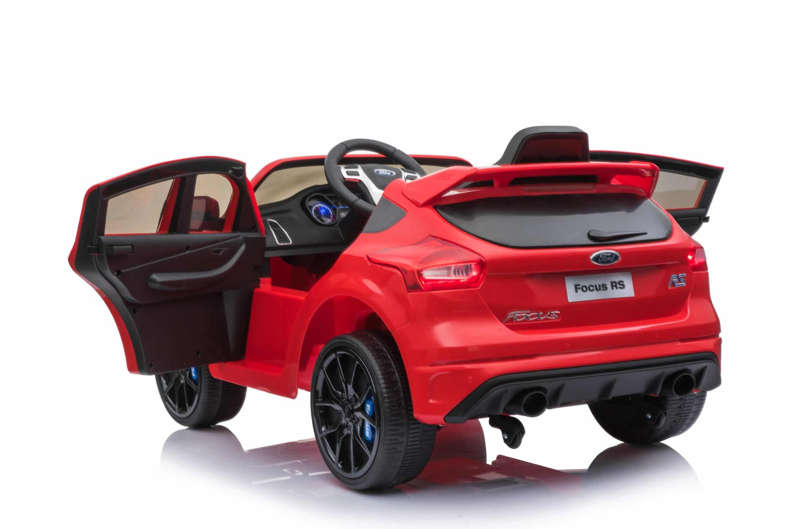 Licensed Ford Focus Rs 12v Childrens Kids Battery Ride On Car – Red