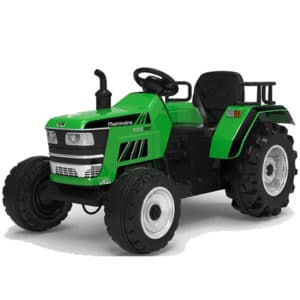 12v Kids Electric Tractor – Green
