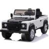 Licensed 24v Kids Land Rover Defender 90 4wd – White
