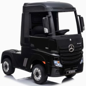 24V Mercedes-Benz Actros Lorry - Black