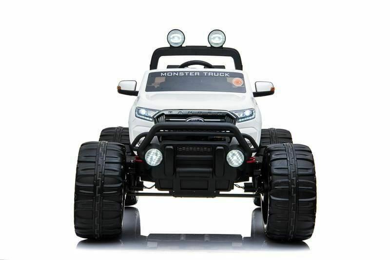 Ford Ranger Ride On Kids 24v Monster Truck 4wd Eva Wheels – White
