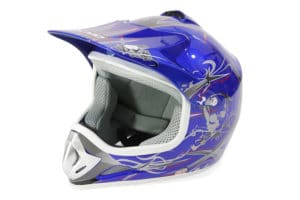 Kids Motocross Mx Open Face Helmet Green (copy)