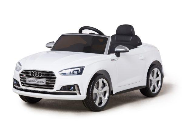 Licensed 12v Audi S5 Children's Battery Operated 12v Ride On – White