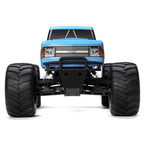 1/10 Amp Crush 2wd Monster Truck Brushed Rtr International, Blue (ecx03048it1)