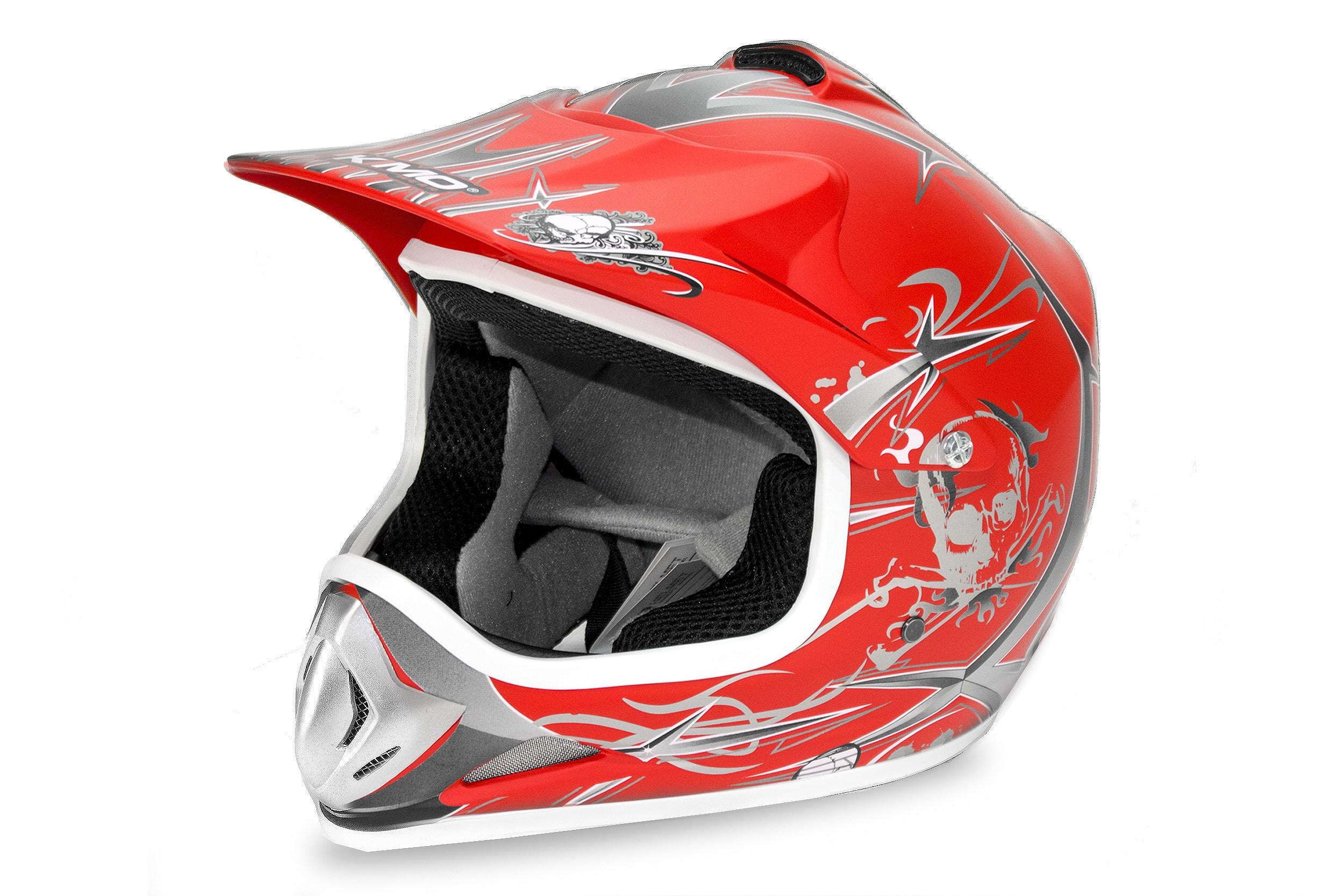 Kids Motocross Mx Open Face Helmet Blue (copy)