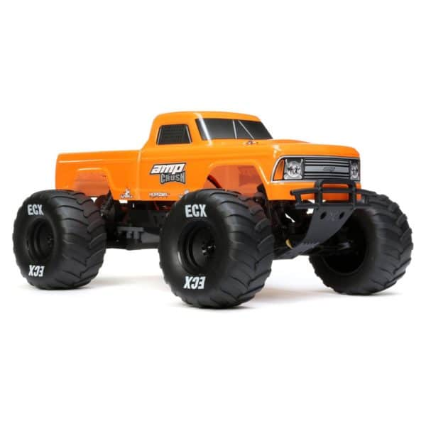 1/10 Amp Crush 2wd Monster Truck Brushed Rtr International, Orange (ecx03048it2)