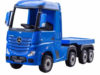 Mercedes Actros 24v* Electric Kids Truck With Trailer -black