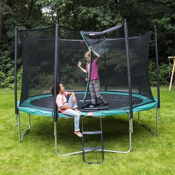 Berg 380 Favorit Trampoline Green with Comfort Net