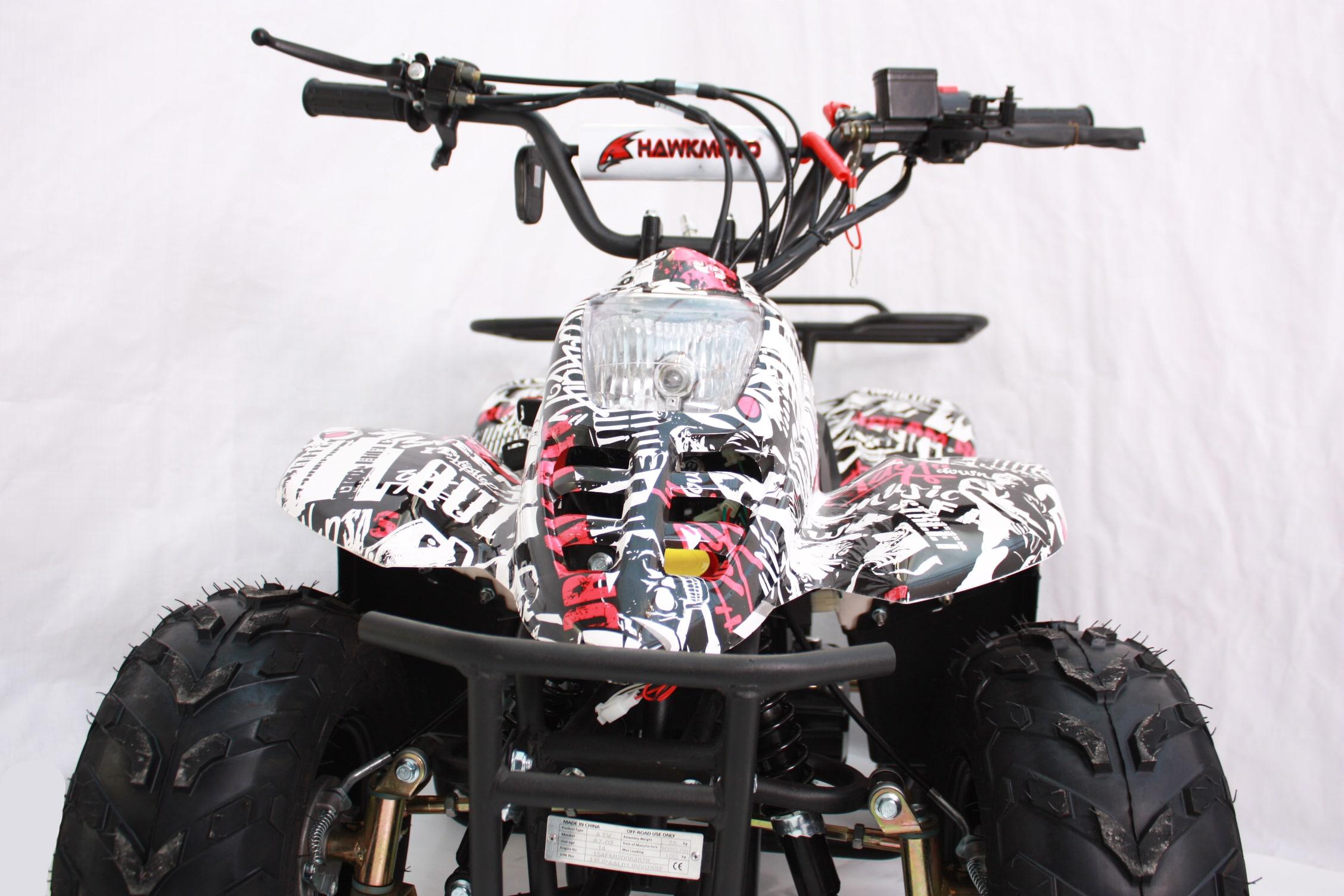 Hawkmoto Boulder 110cc Kids Quad – Zombie Edition