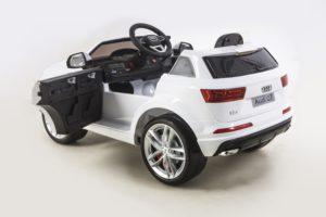 Licensed 12v Audi Q7 – White