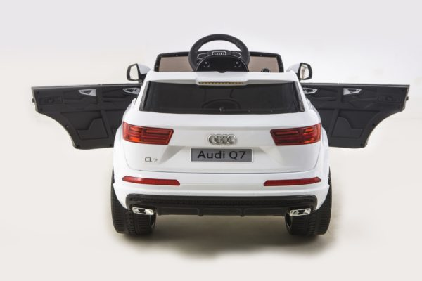 Licensed 12v Audi Q7 Children's Battery Operated 12v Ride On – White