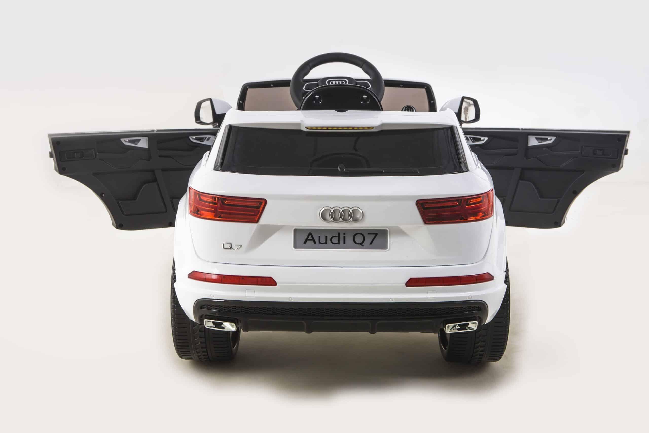Licensed 12v Audi Q7 Children's Battery Operated 12v Ride On – White