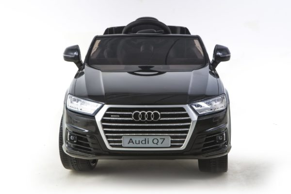 Licensed 12v Audi Q7 Children's Battery Operated 12v Ride On – Black