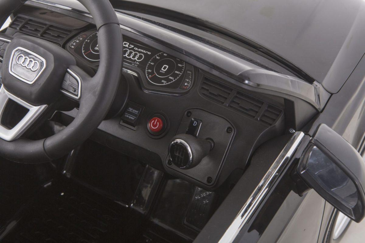 Licensed 12v Audi Q7 Children's Battery Operated 12v Ride On – Black
