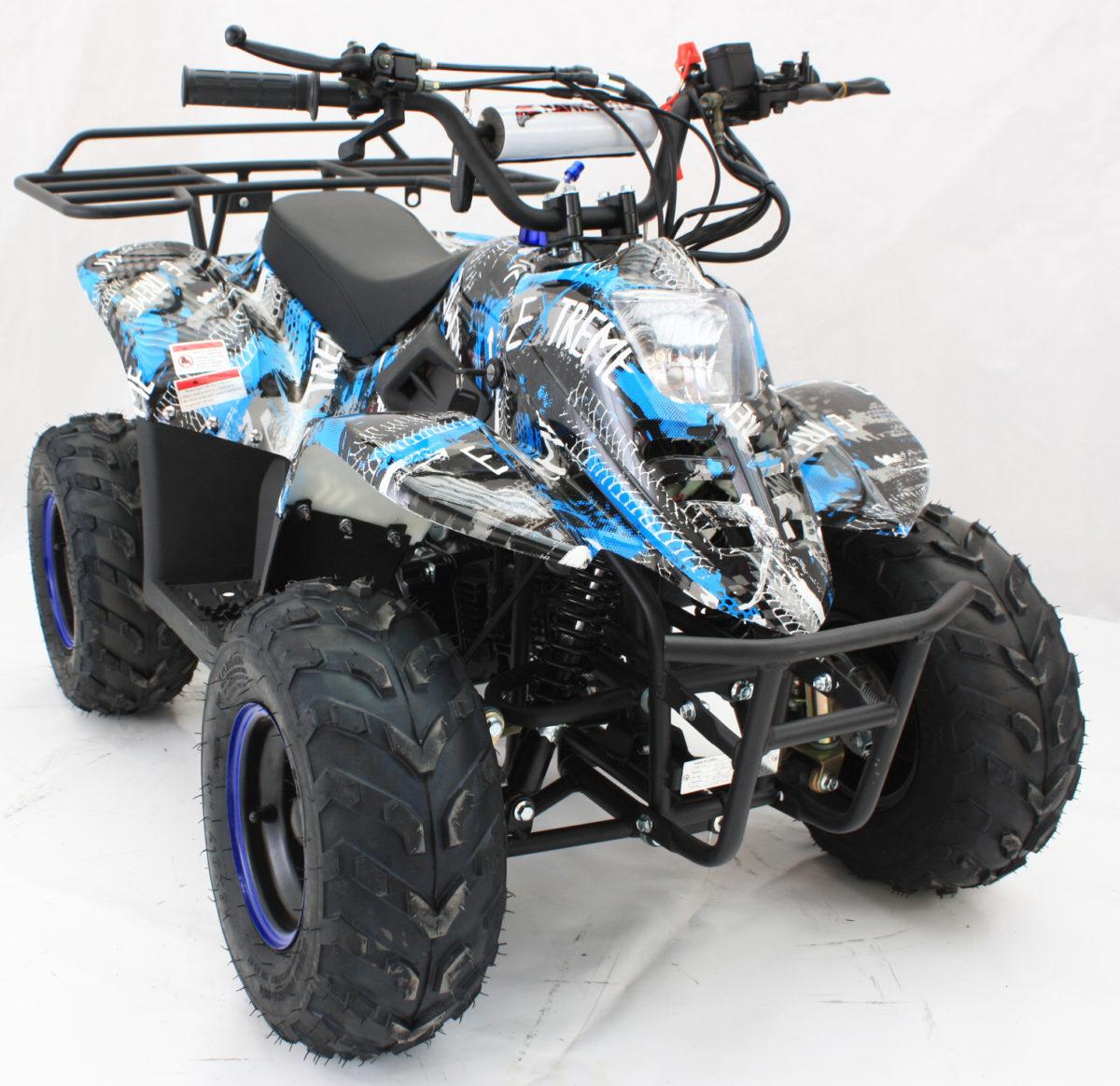 Hawkmoto Boulder Fun 110cc Kids Quad – Extreme Blue